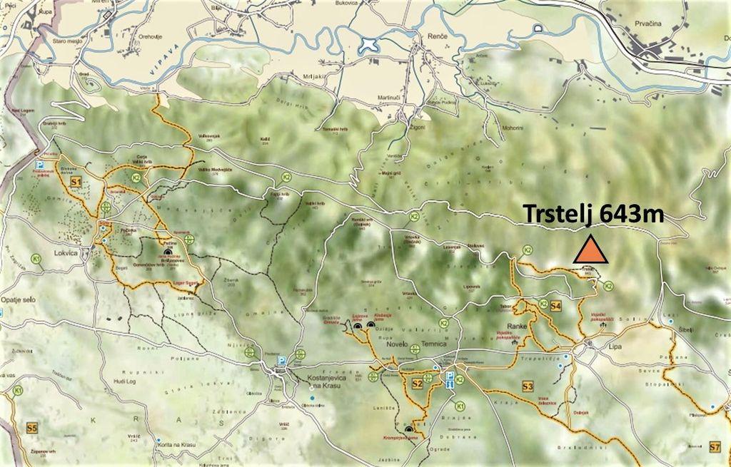 3 zemljevid