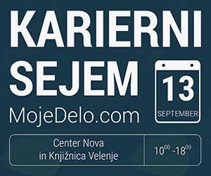 Regionalni karierni sejem MojeDelo.com 2017 – Velenje