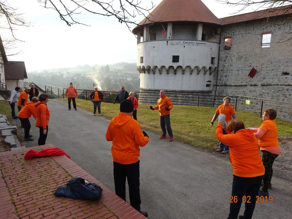 1. obletnica Šola zdravja 1000 gibov skupina Žužemberk