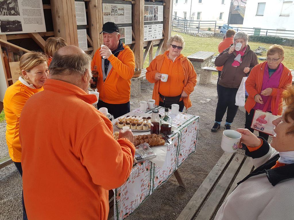 Druga obletnica Šola zdravja 1000 gibov-skupina Žužemberk