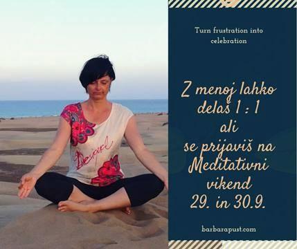 Meditativni vikend z Barbaro Pust