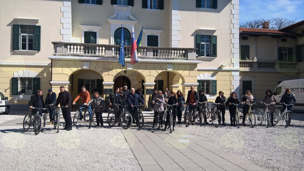 Študijski obisk v okviru projekta Cyclewalk