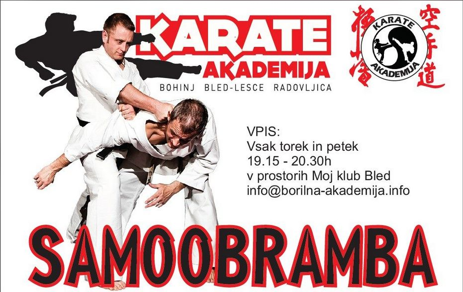 Samoobramba in karate za ODRASLE
