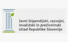 Vir: Javni štipendijski, razvojni, invalidski in preživninski sklad RS