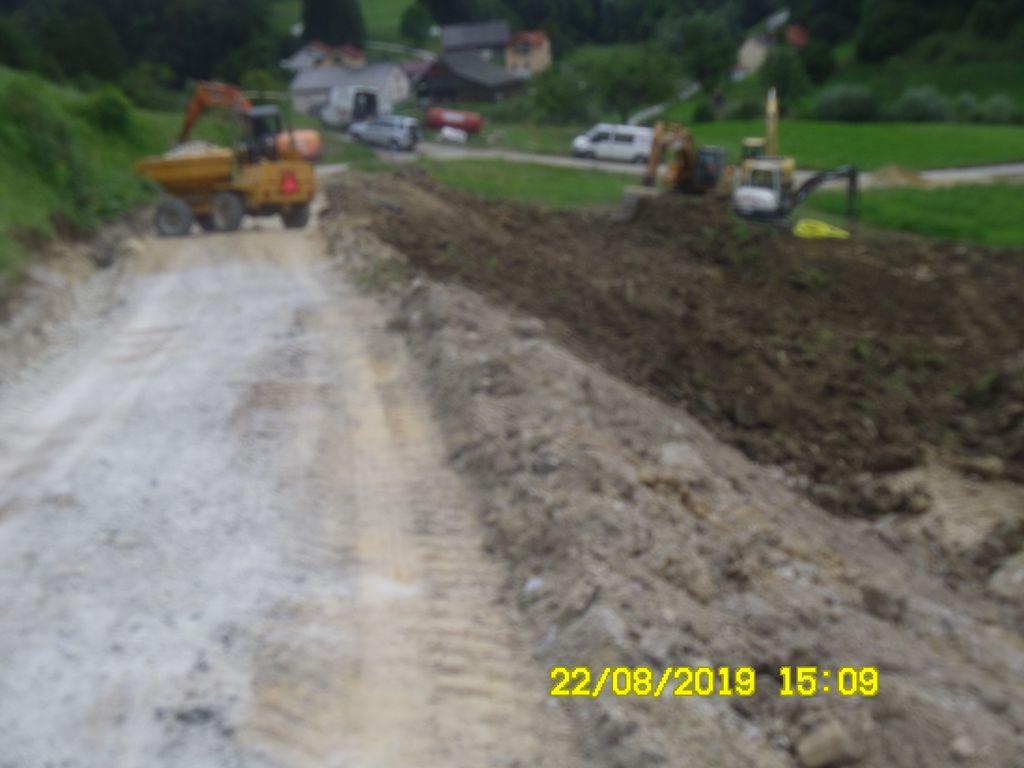 Modernizacija ceste Loke-Jesenik-Dežno