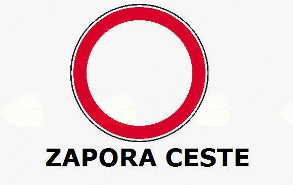 Obvestilo - POPOLNA ZAPORA CESTA ZG. BREZJE-RAVNO