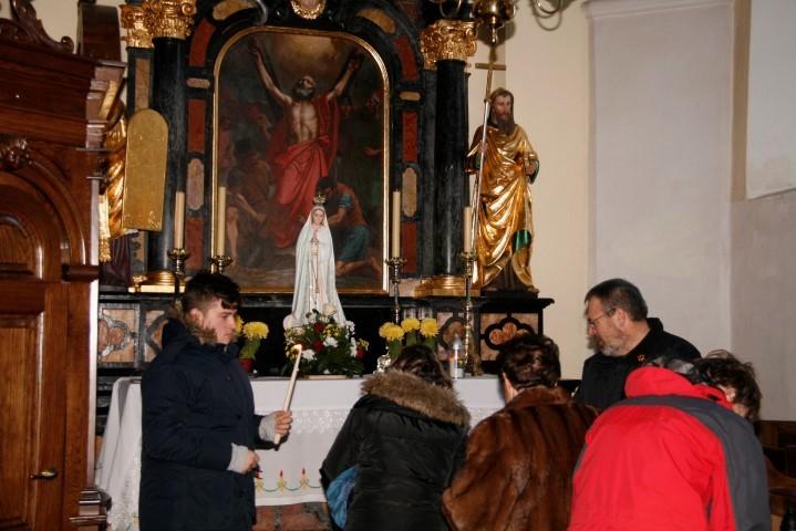 Luč miru iz Betlehema že pri svetem Tomažu v Krašnji
