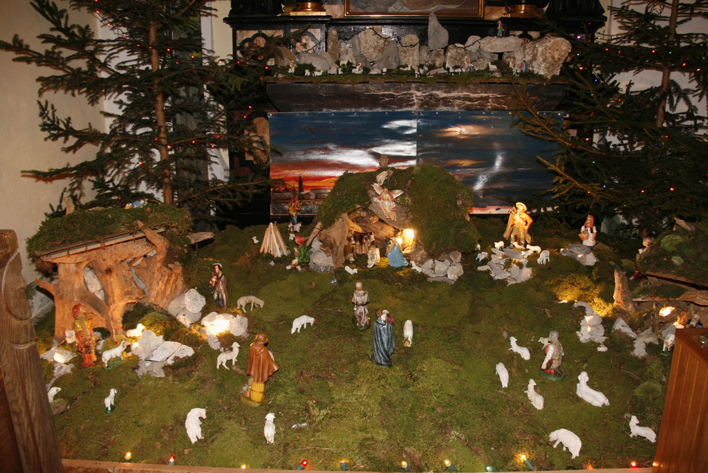 Božična sveta maša v Krašnji