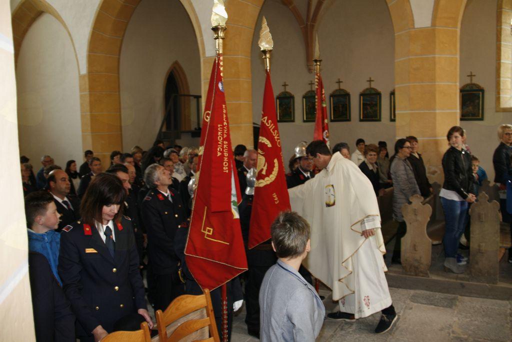 Sveti Florjan zavetnik gasilcev