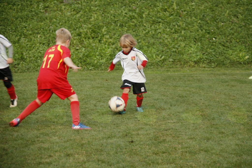 Nogometna tekma med NK Črni graben in NK Dob selekcija U11