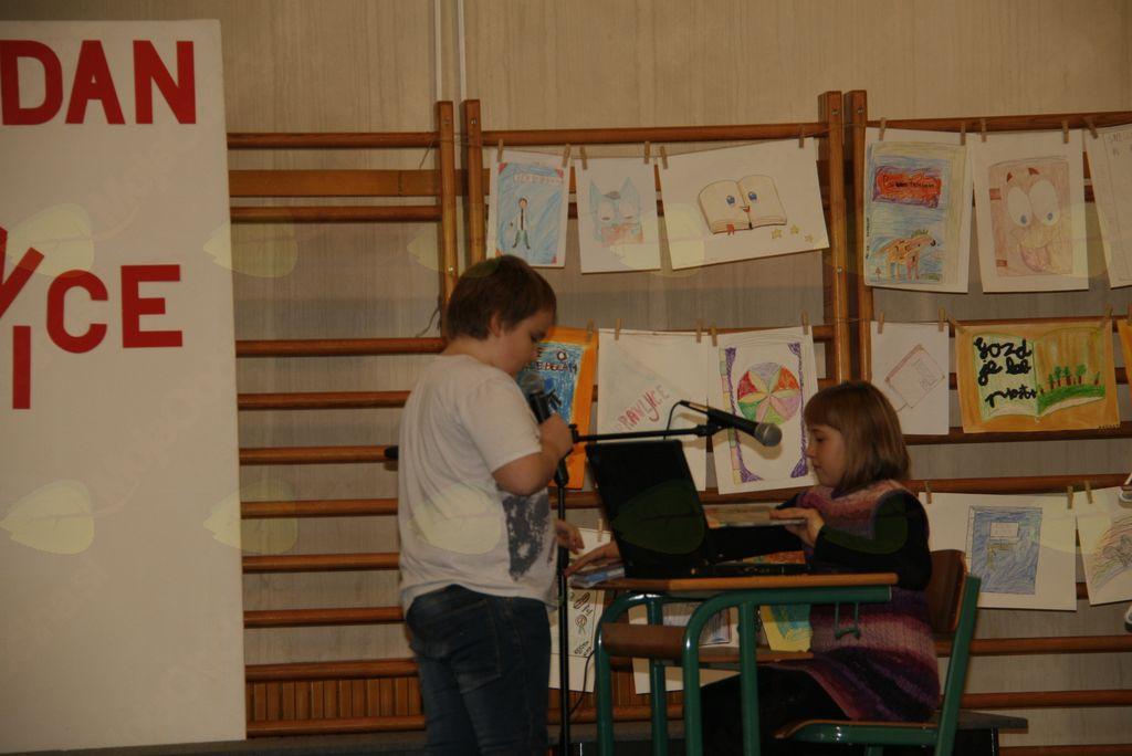Ta veseli dan šolske knjižnice na Brdu