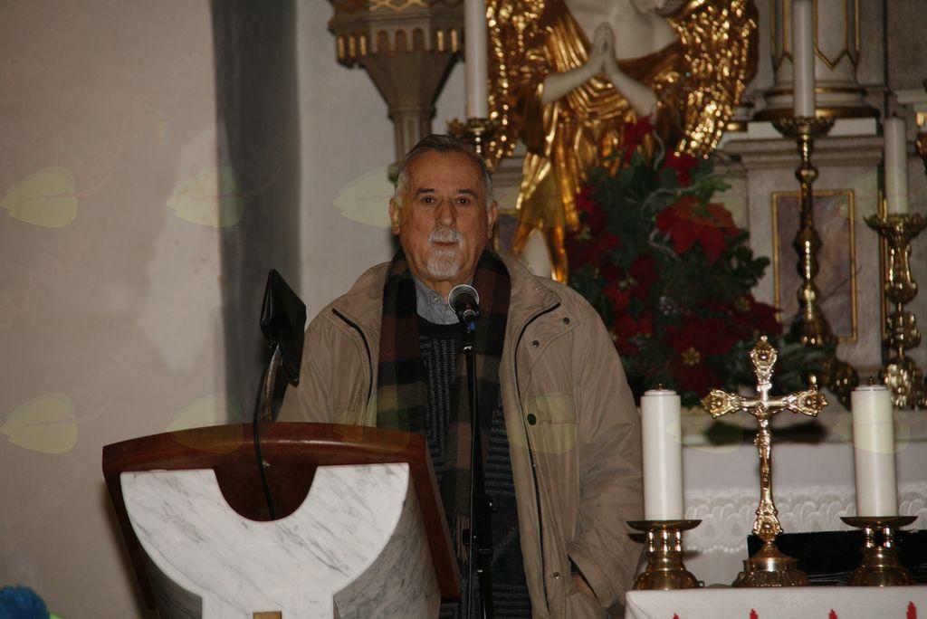 Božični koncert Ivana Hudnika v Krašnji