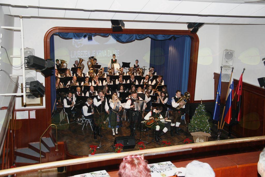 Novoletni koncert Godbe Lukovica