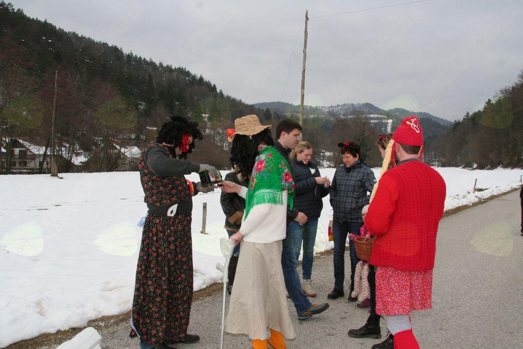 Pustni sprevod članov in članic  ŠKD Bregar v Trnjavi