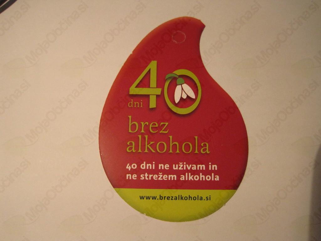 Alkohol? Ne, hvala!