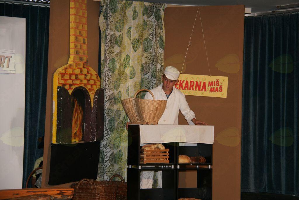 Prostore v  podružnični šoli v Krašnji oddali pekarni