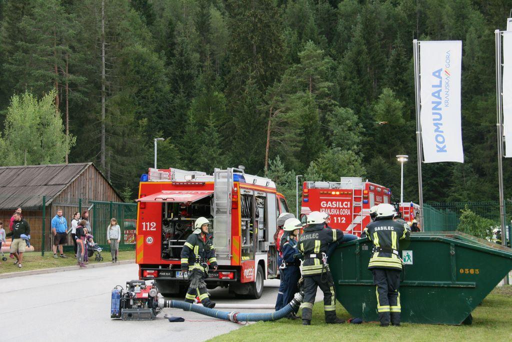 Ekološko katastrofo preprečilo hitro posredovanje gasilcev