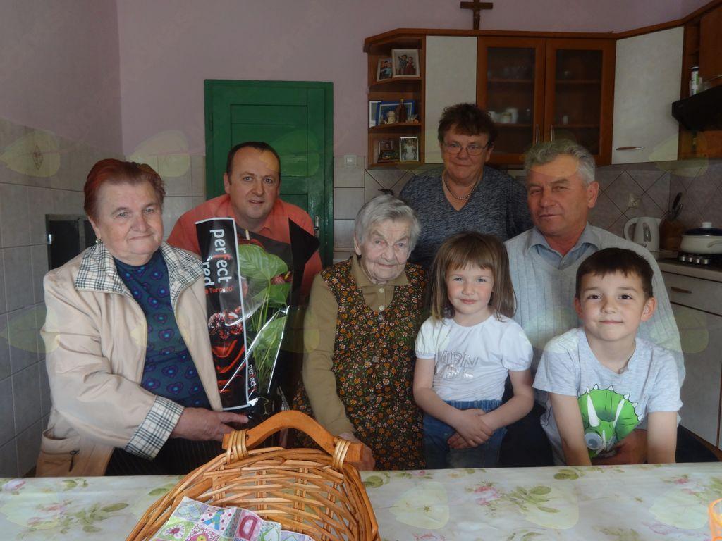 Marija Polh je praznovala 98 let