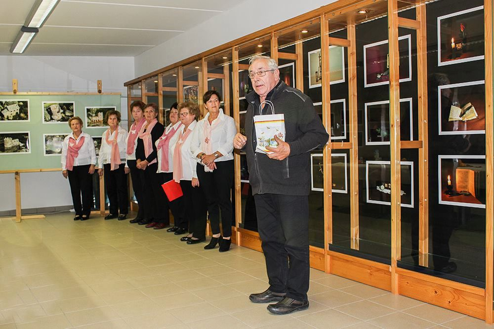 Otvoritev razstave v Lokavcu