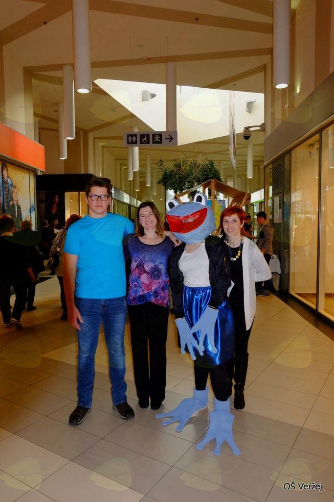 Plavček Osnovne šole Veržej zlat na državnem festivalu Turizmu pomaga lastna glava