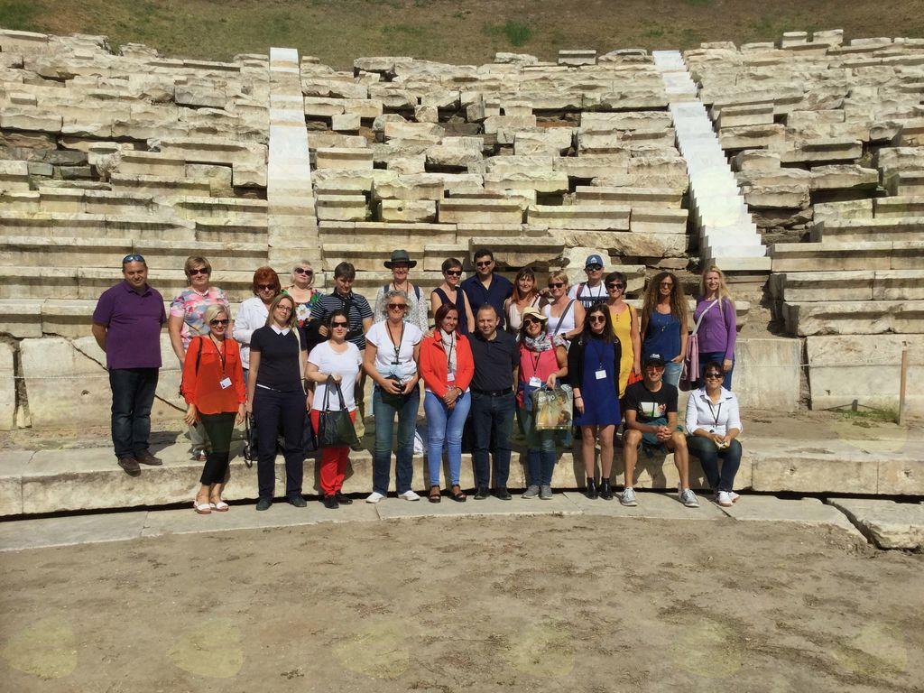 V okviru projekta Head in the clouds smo se po nova znanja odpravili v Grčijo
