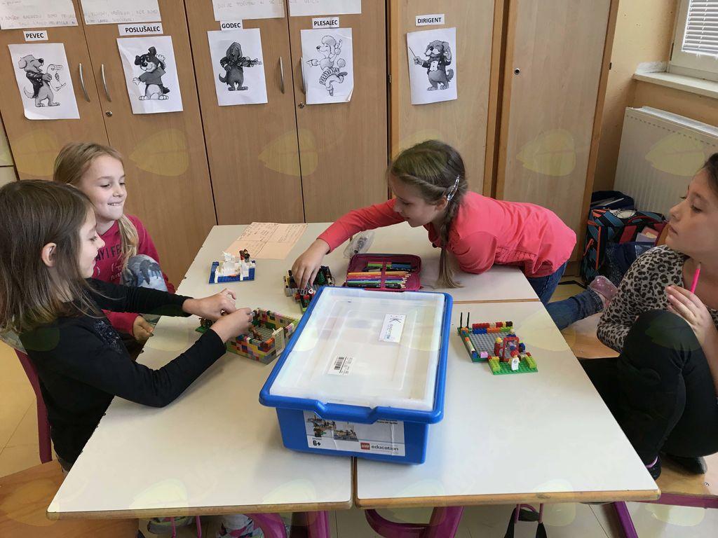KAJ IMAJO SKUPNEGA LEGO KOCKE, PODNEBNE SPREMEMBE IN UČENCI 3. A?