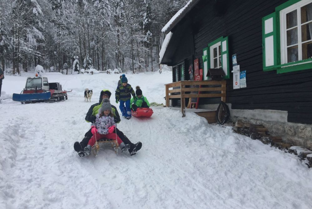 Zimovanje 2019 na Mihovem domu na Vršiču
