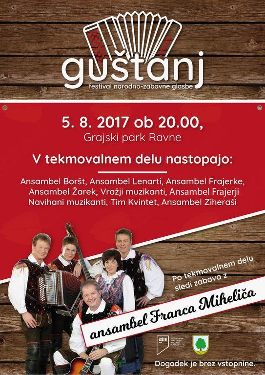 Guštanj - festival narodno-zabavne glasbe