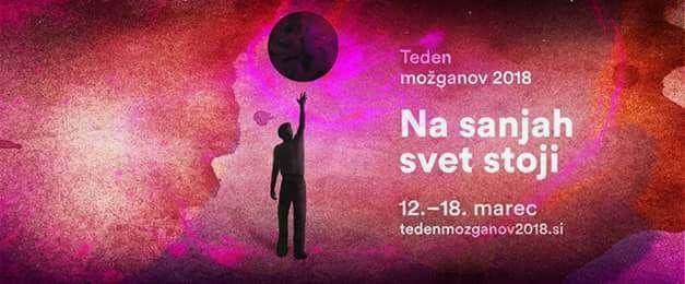 Teden možganov 2018: Na sanjah svet stoji – sklop predavanj v Kopru