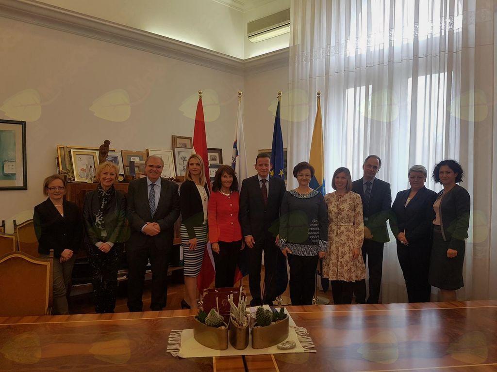 Na obisku v Celju ustavni sodniki iz Republike Avstrije in Slovenije