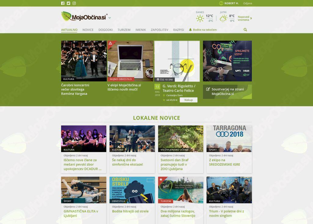 prenovljena spletna stran