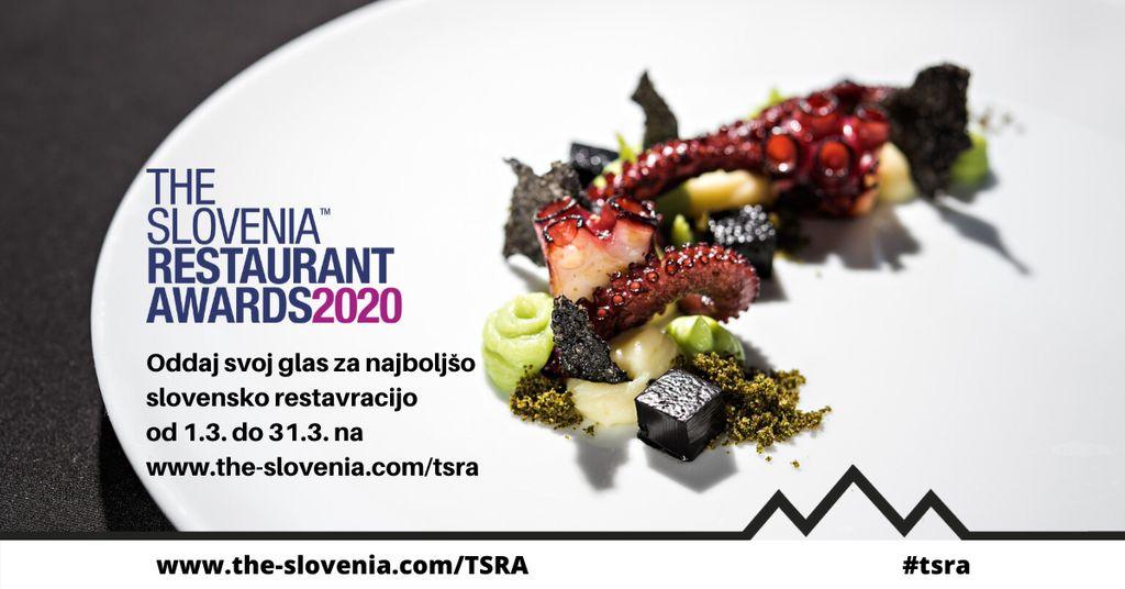 """POVABILO H GLASOVANJU ZA IZBOR NAJBOLJŠIH SLOVENSKIH RESTAVRACIJ """"THE SLOVENIA RESTAURANT AWARDS"""""""