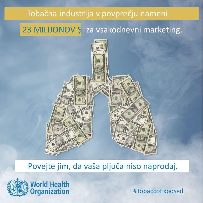 31. maj – Svetovni dan brez tobaka