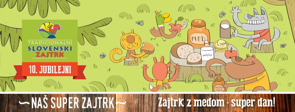 Jubilejni 10. Tradicionalni slovenski zajtrk letos v drugačni obliki