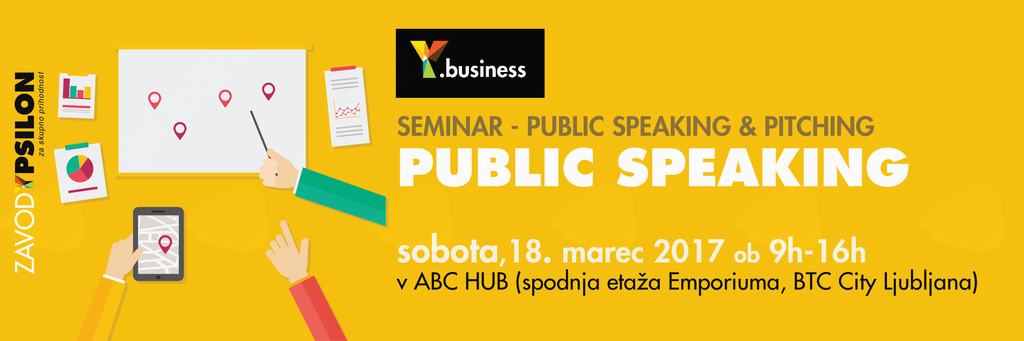 Y.business seminar: Public Speaking