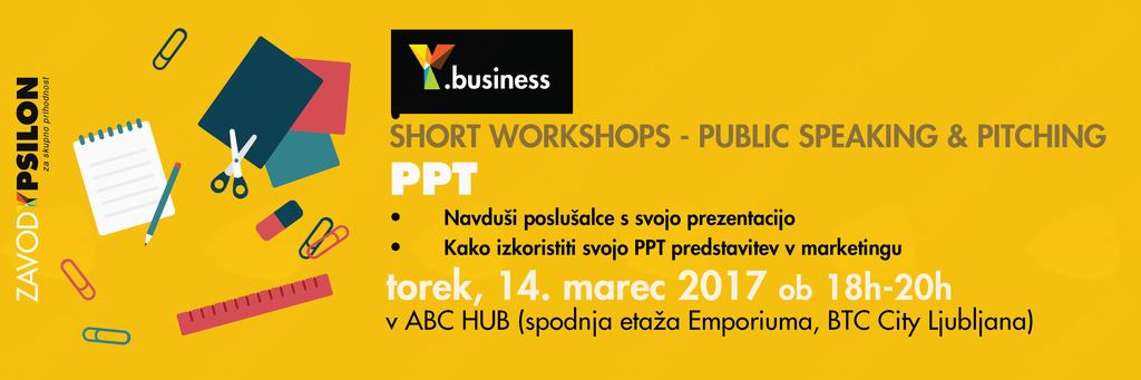 Y.business delavnica: Efficient PPT