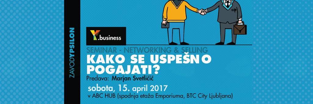 Y.business seminar: Kako se uspešno pogajati