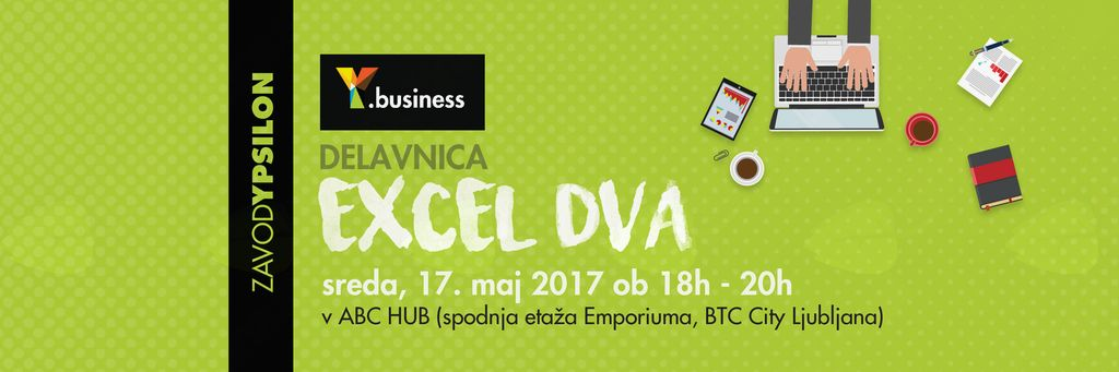 Y.business delavnica Excel 2