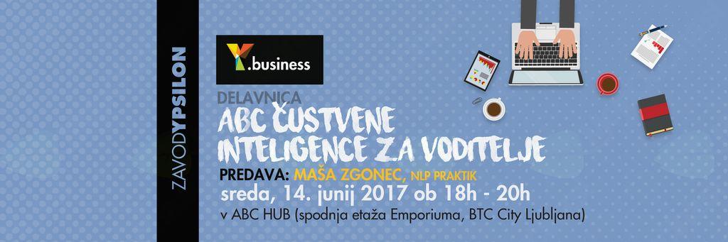 Y.business delavnica ABC čustvene inteligence za voditelje