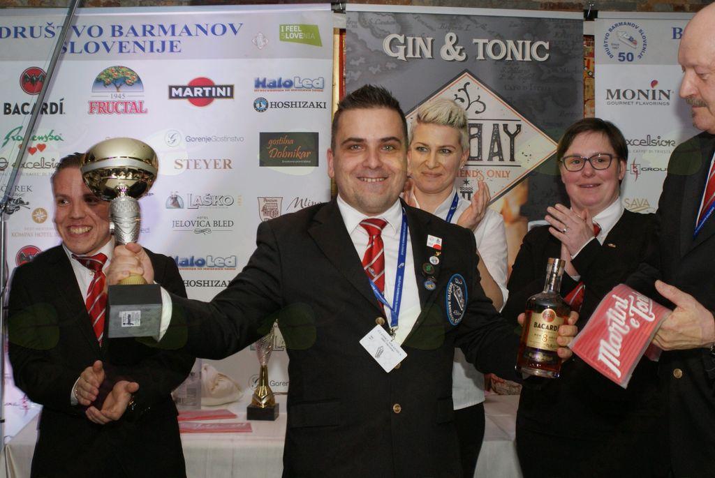 Najboljši barman 2018 – Tomaž Fartek