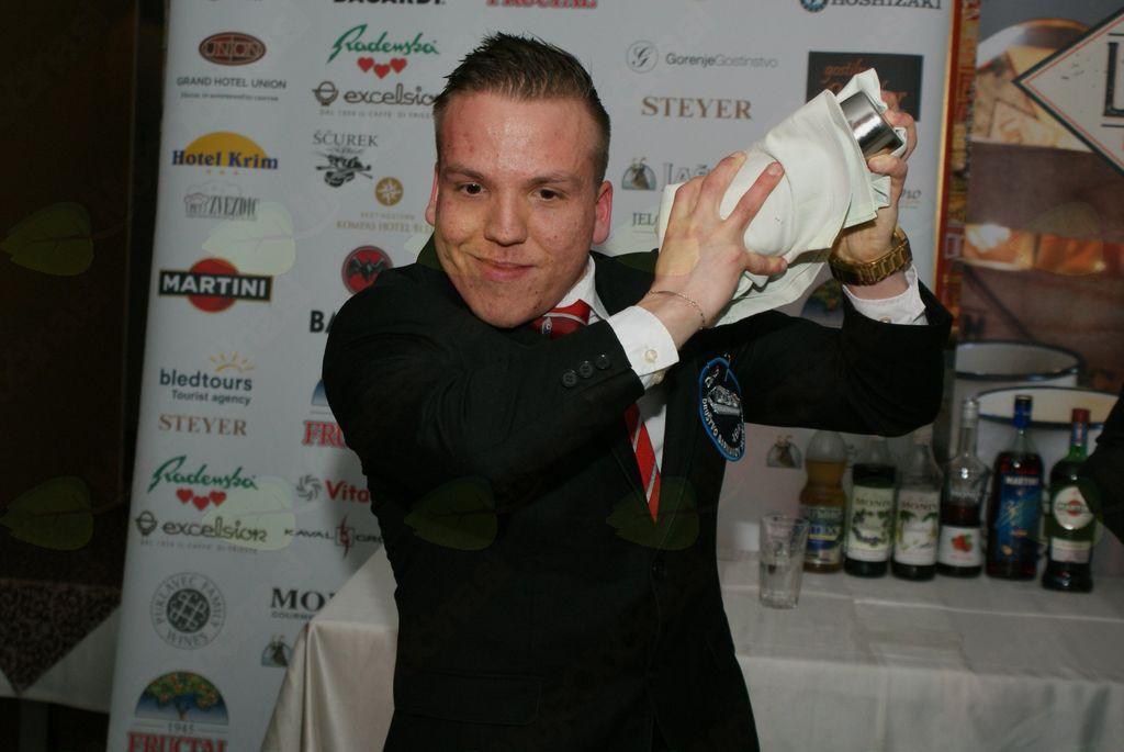 najmlajši barman v Sloveniji