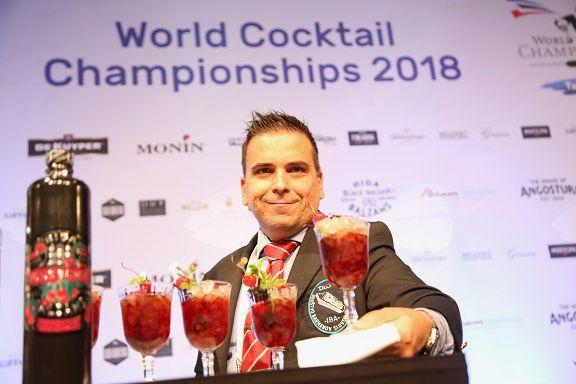 Vice prvak sveta Tomaž Fartek s koktajlom