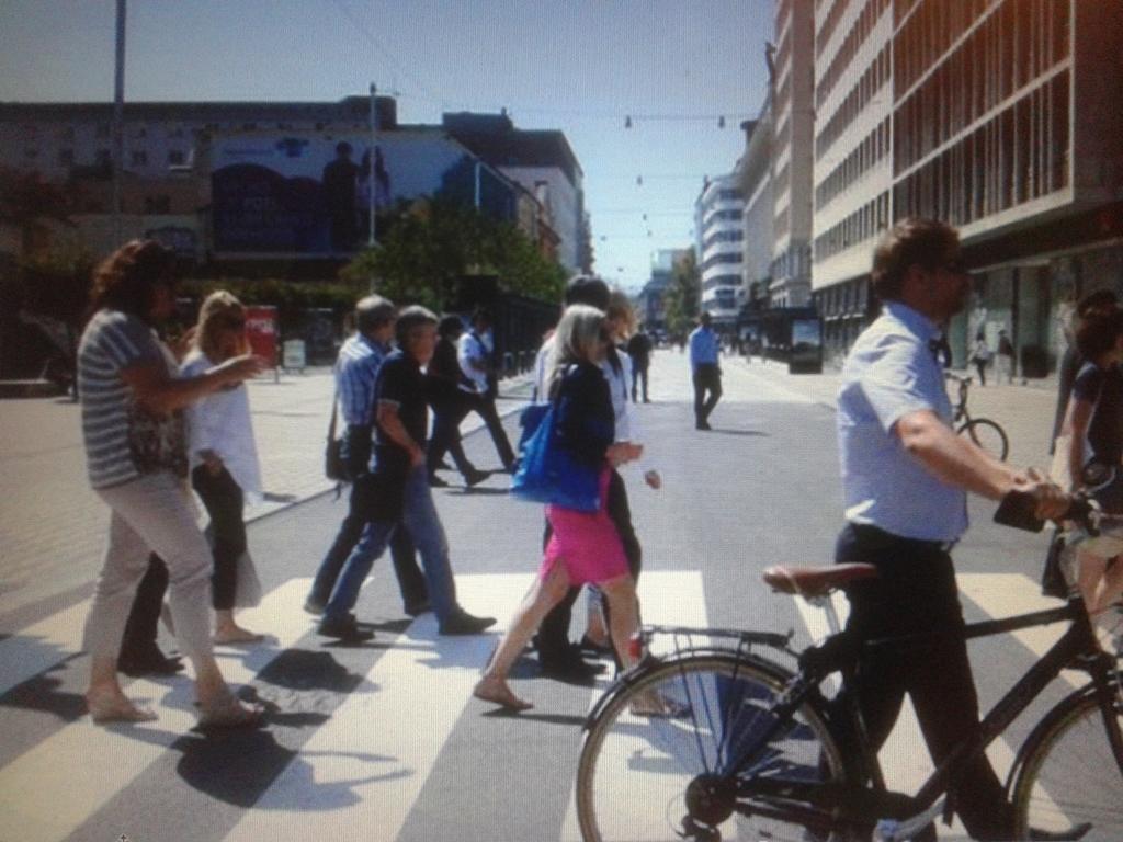 Pešci in kolesarji v prometu