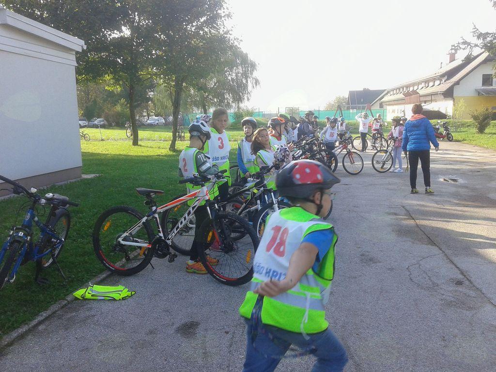 Malo treme pred pregledom koles in izpitno vožnjo