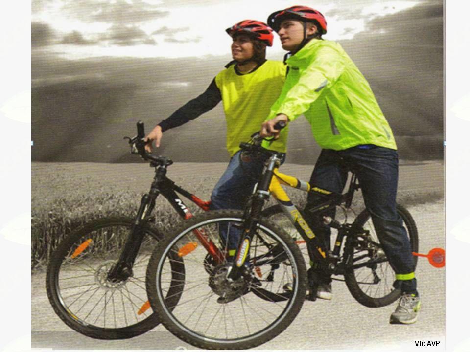 Pešci in kolesarji v cestnem prometu