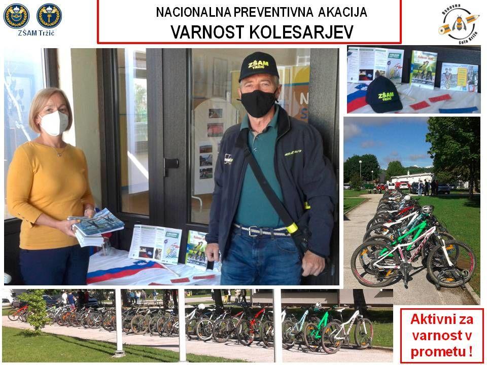 Nacionalna preventivna akcija Varnost kolesarjev
