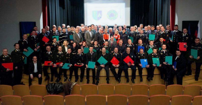 Podelitev priznanj Civilne zaščite za območje izpostave URSZR Ljubljana, Videm, 6. marec 2018 Foto: Gašper Stopar, Občina Ivančna Gorica