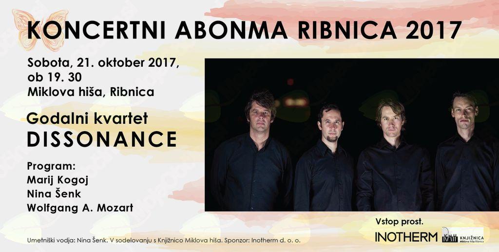 Koncertni abonma Ribnica 2017 - zadnji koncert