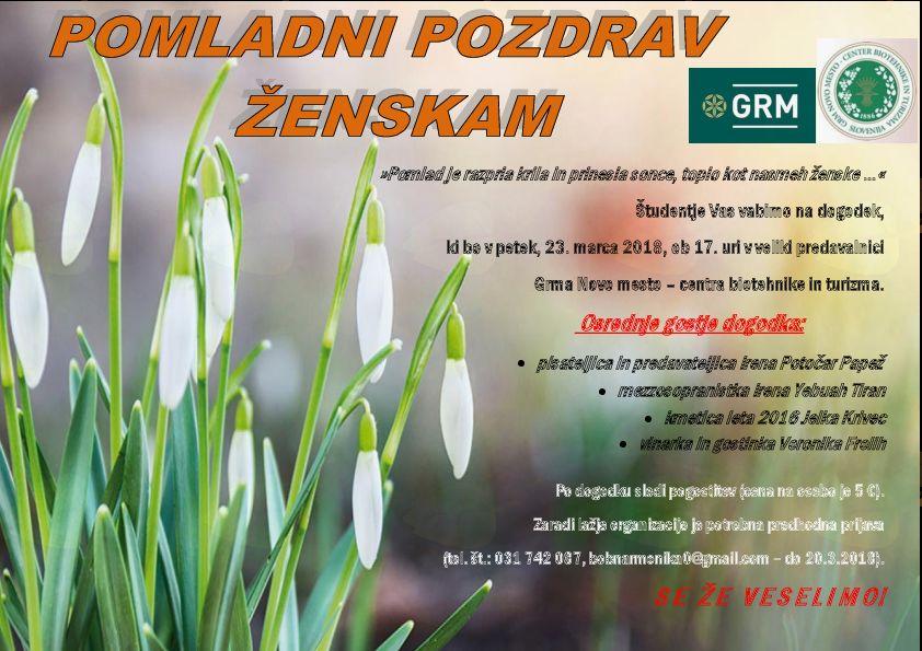 Barvit dogodek v Grmu Novo mesto - centru biotehnike in turizma