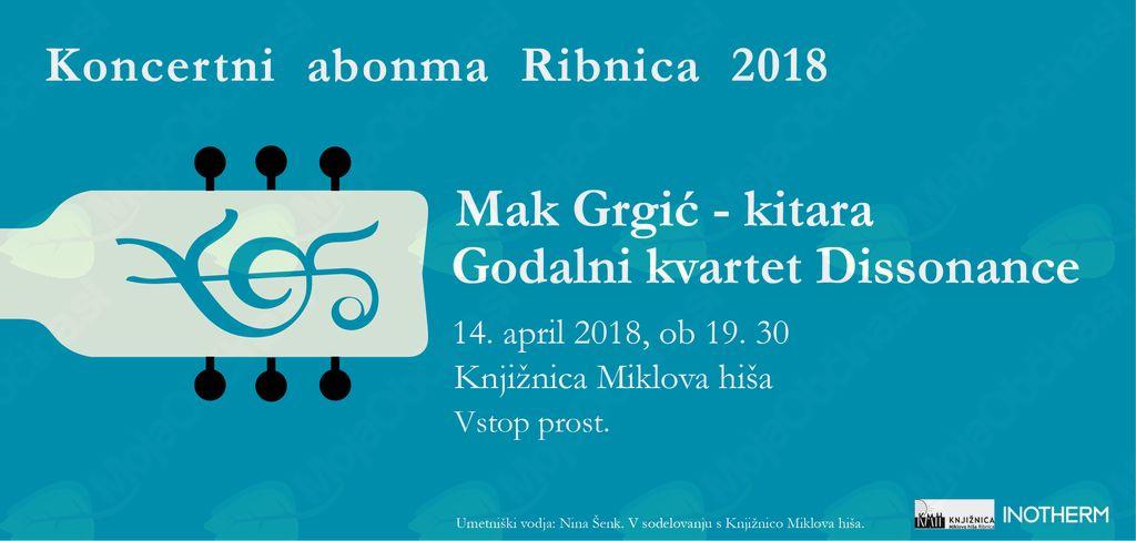 Prvi koncert koncertnega abonmaja Ribnica